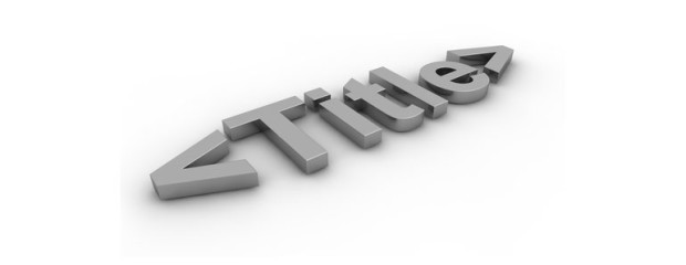 The Importance of the TItle Tag for SEO